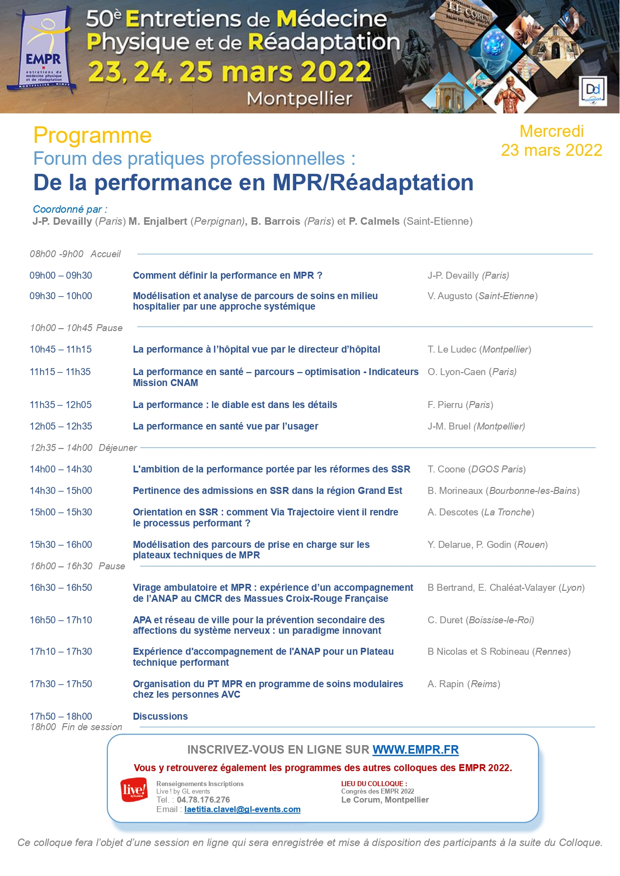 Flyer De la performance en MPR Rédaptation mercredi 23 mars 2022 EMPR 2022 pages to jpg 0001